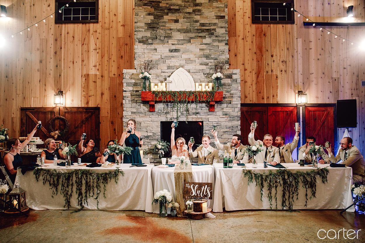Barn on the Ridge Wedding Pictures Burlington Iowa Photographers - Carter Photography
