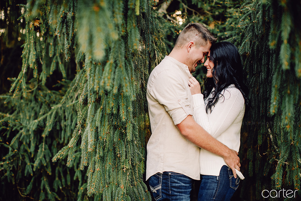 Cedar Rapids Engagement Session Pictures - Carter Photography