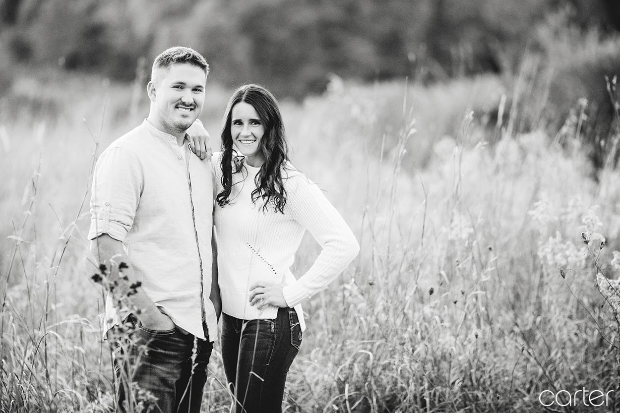Cedar Rapids Engagement Session Pictures - Carter Photography