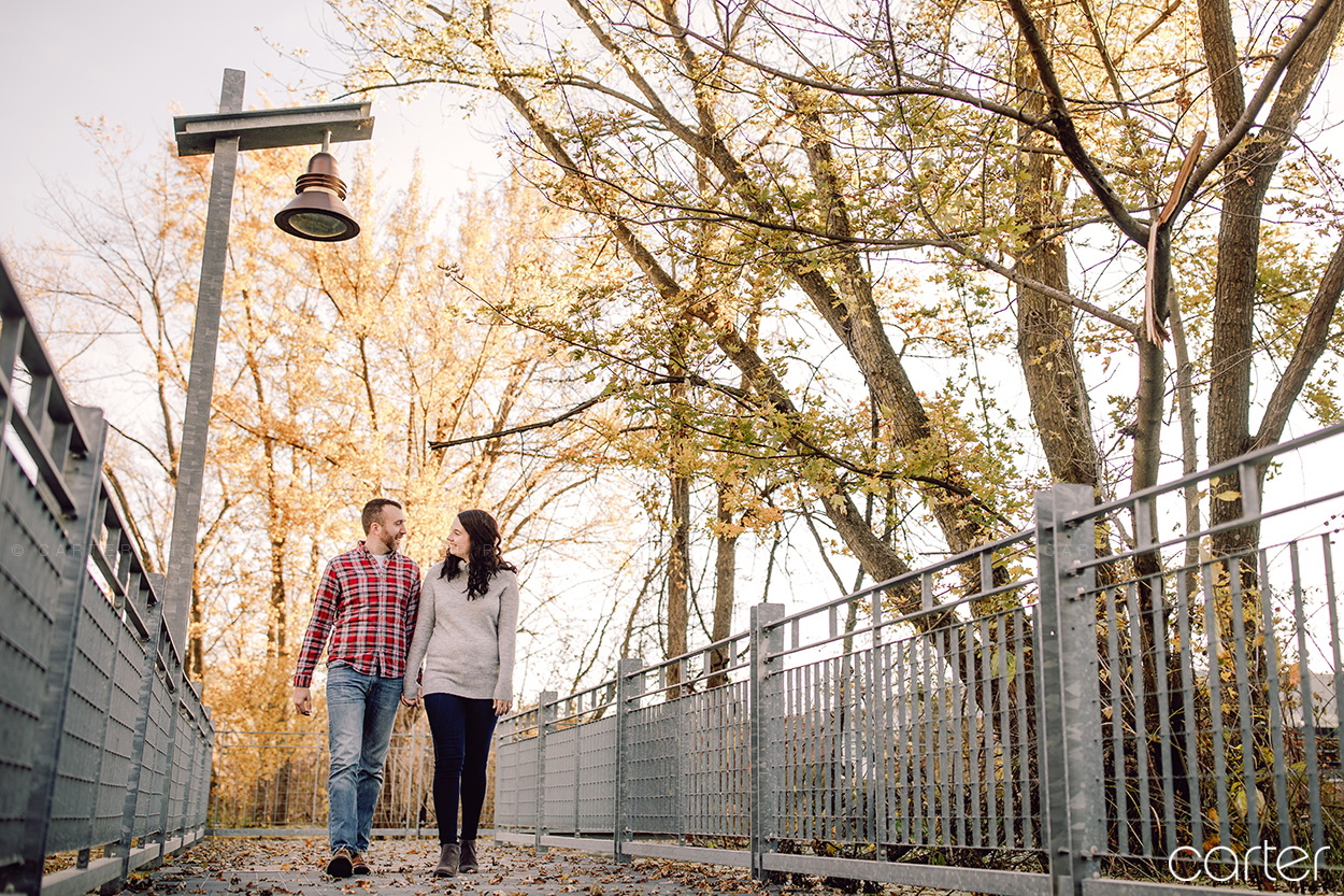 Iowa City Photographers Engagement Session Pictures Carter Photography