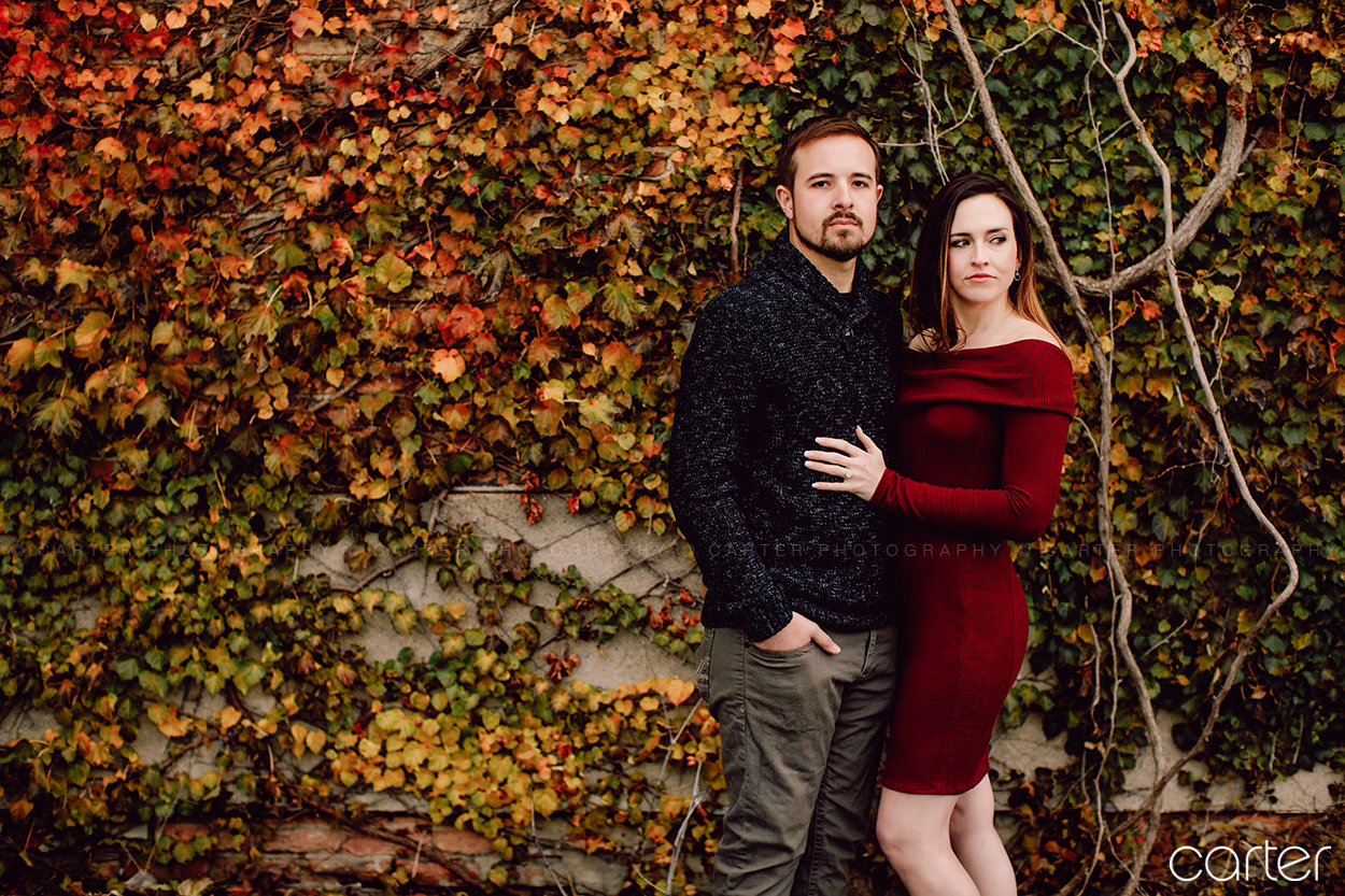 Cedar Rapids Photographers Engagement Session Pictures Carter Photography