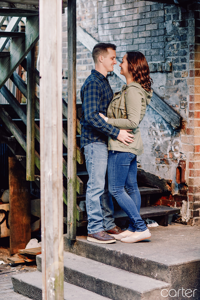 Iowa City Engagement Session Pictures - Carter Photography