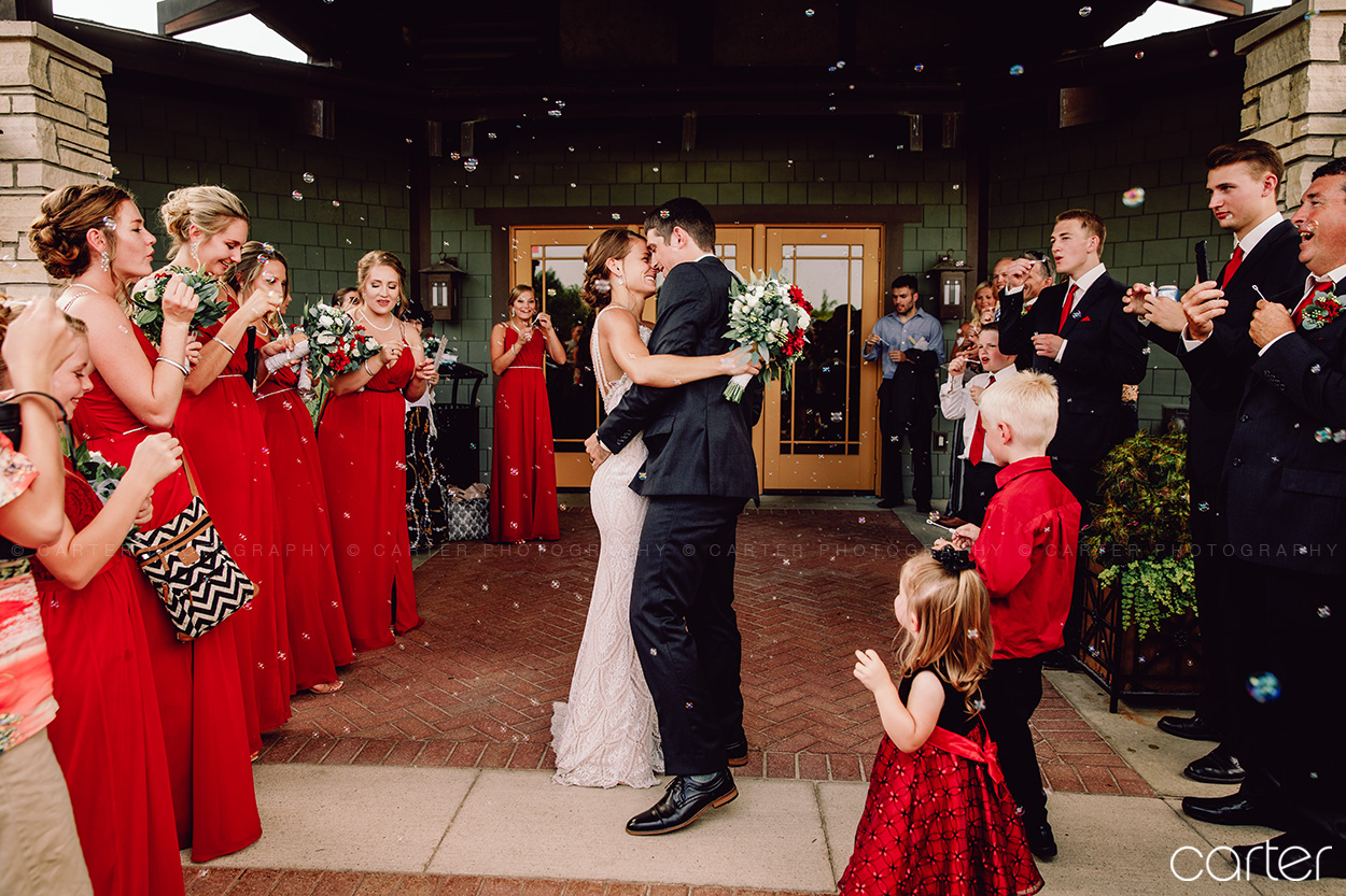 Coralville Iowa City Wedding Photographers Brown Deer Wedding Pictures Carter Photography