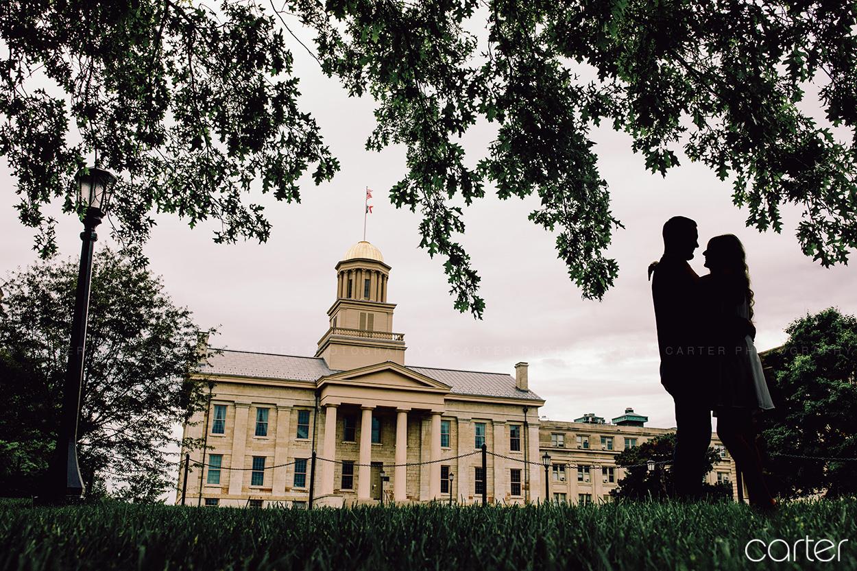 Iowa City Engagement Session Pictures Cedar Rapids Photographers Carter Photography