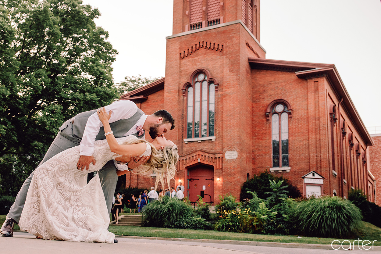 Iowa City Wedding Photographers Old Brick Pictures Cedar Rapids Carter Photography