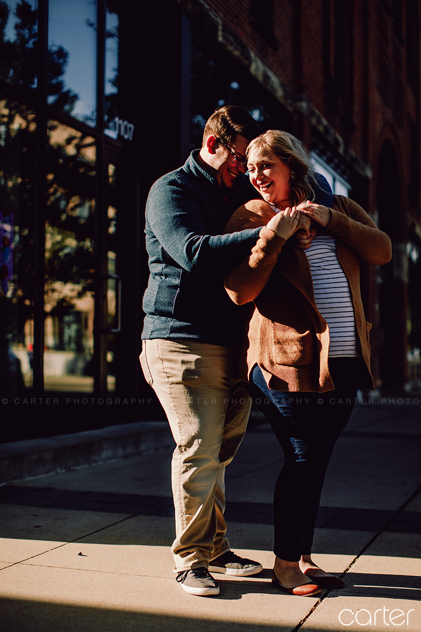 Cedar Rapids Iowa Engagement Session Pictures Iowa Photographers Carter Photography