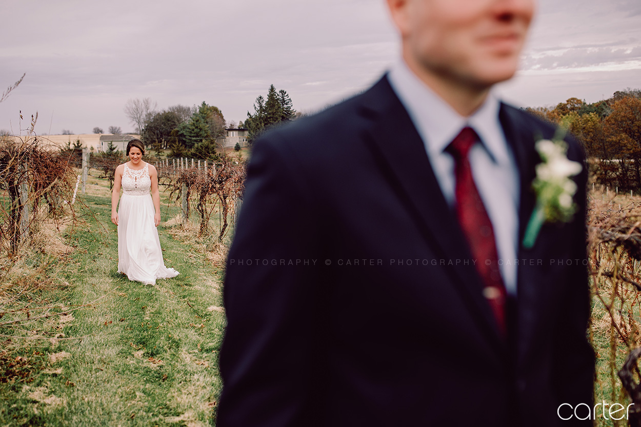 Cedar Ridge Wedding Pictures Winery Photos Cedar Rapids Iowa Photographers Carter Photography