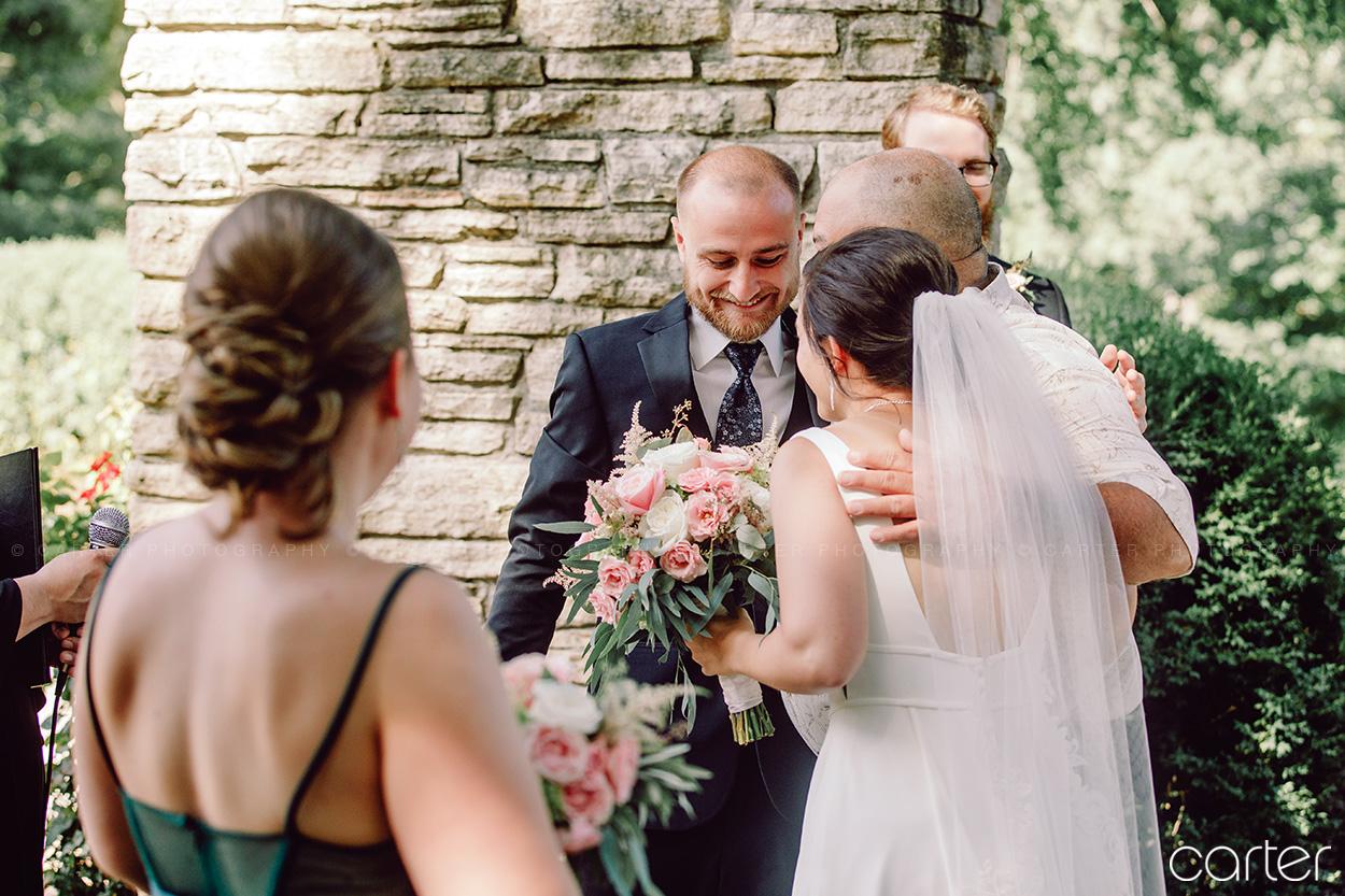 Des Moines Art Center Rose Garden Wedding Pictures Carter Photography