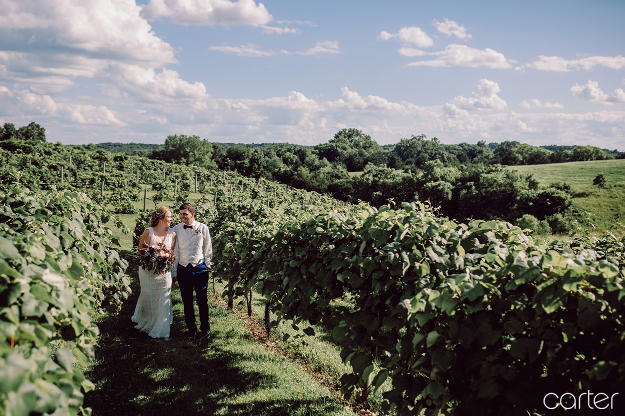 Cedar Ridge Winery Wedding Pictures Iowa City Photographers Carter Photography