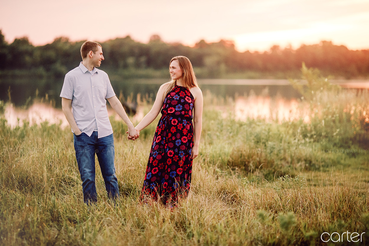 Iowa City Engagement Session Pictures Photographers Carter Photography
