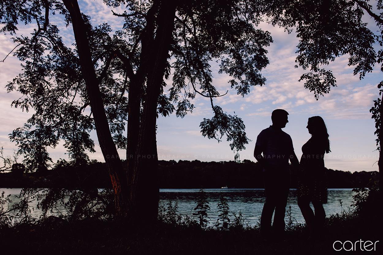 Lake Macbride Engagement Session Carter Photography Iowa Photographers