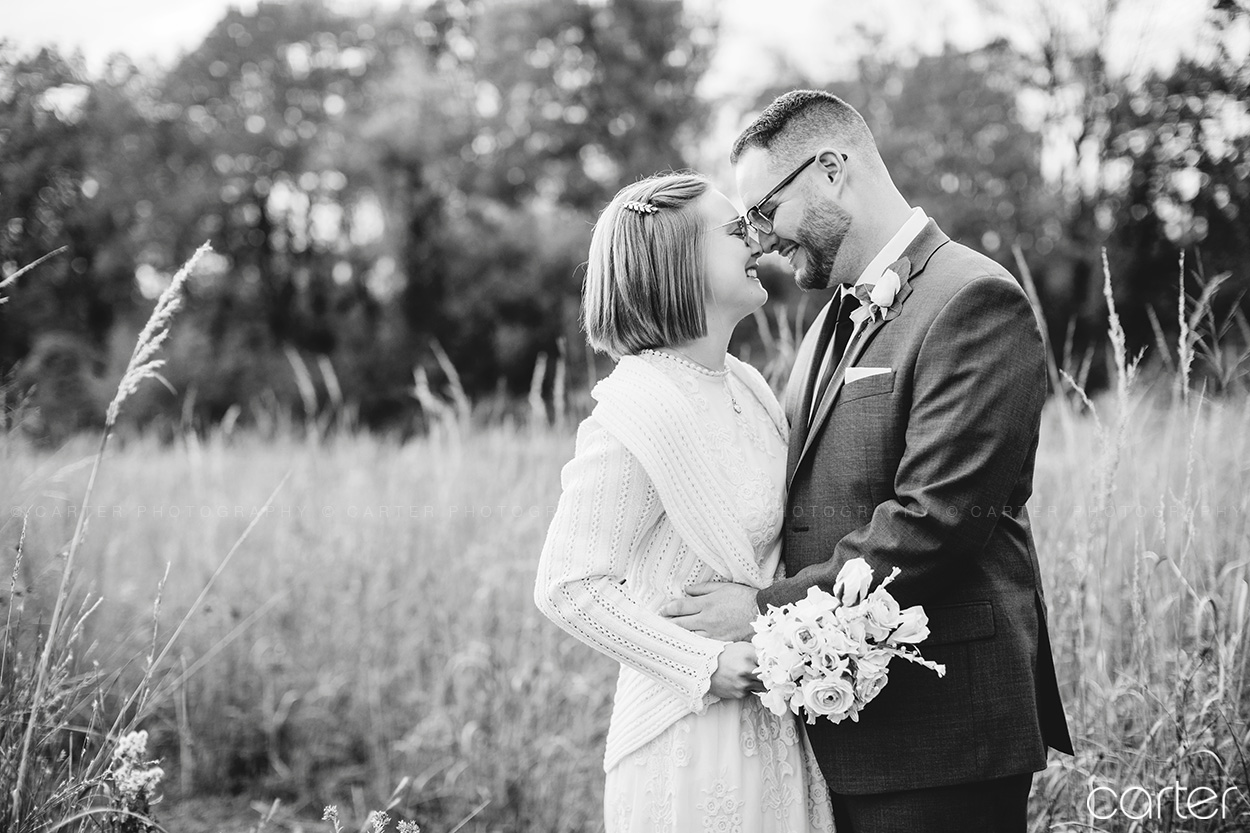 Cedar Rapids Wedding Pictures Photographers Carter Photography at Indian Creek Nature Center