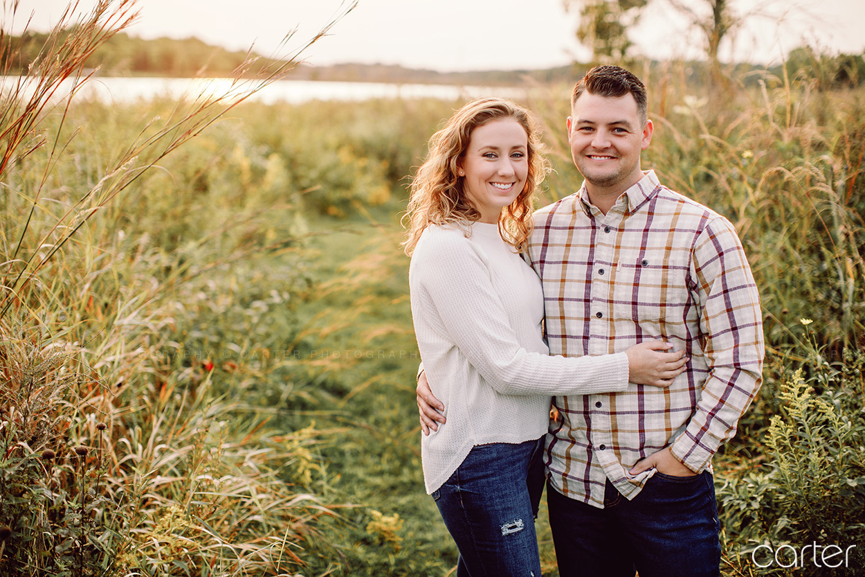 Iowa City Lake Macbride Engagement Pictures Photographers - Carter Photography Cedar Rapids
