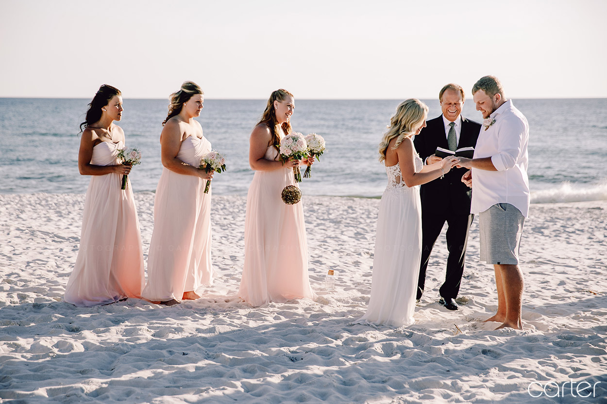 Panama City Beach Wedding Pictures Carter Photography